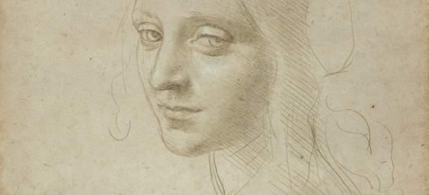 Retrato de mujer – Leonardo Da Vinci – Biblioteca de Turín